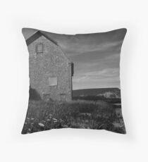 Potato barn, Blomidon, Nova Scotia Throw Pillow