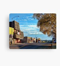 Downtown Columbia Falls (Montana, USA) Canvas Print