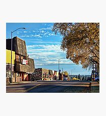 Downtown Columbia Falls (Montana, USA) Photographic Print