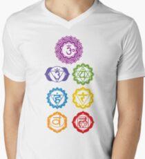 7 Chakras  Men's V-Neck T-Shirt