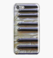 old accordion keyboard iPhone Case/Skin