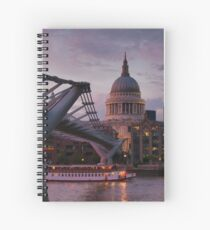 Greetings from London Spiral Notebook