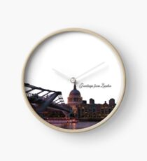 Greetings from London Clock