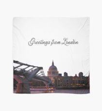 Greetings from London Scarf