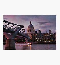 Greetings from London Photographic Print