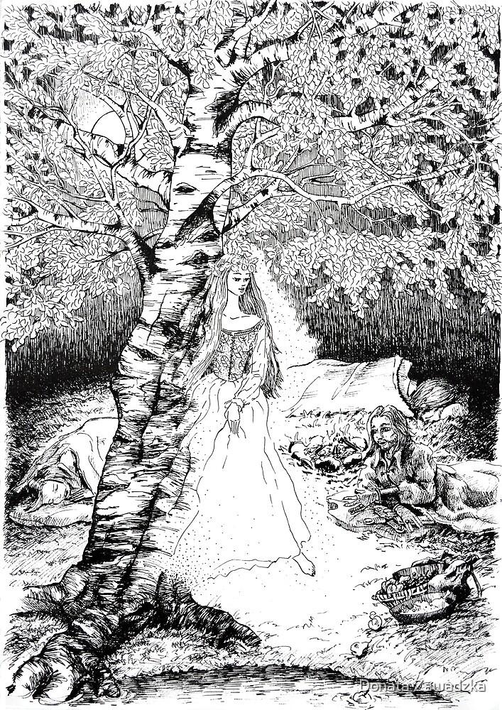 The Birch Maiden by Donata Zawadzka
