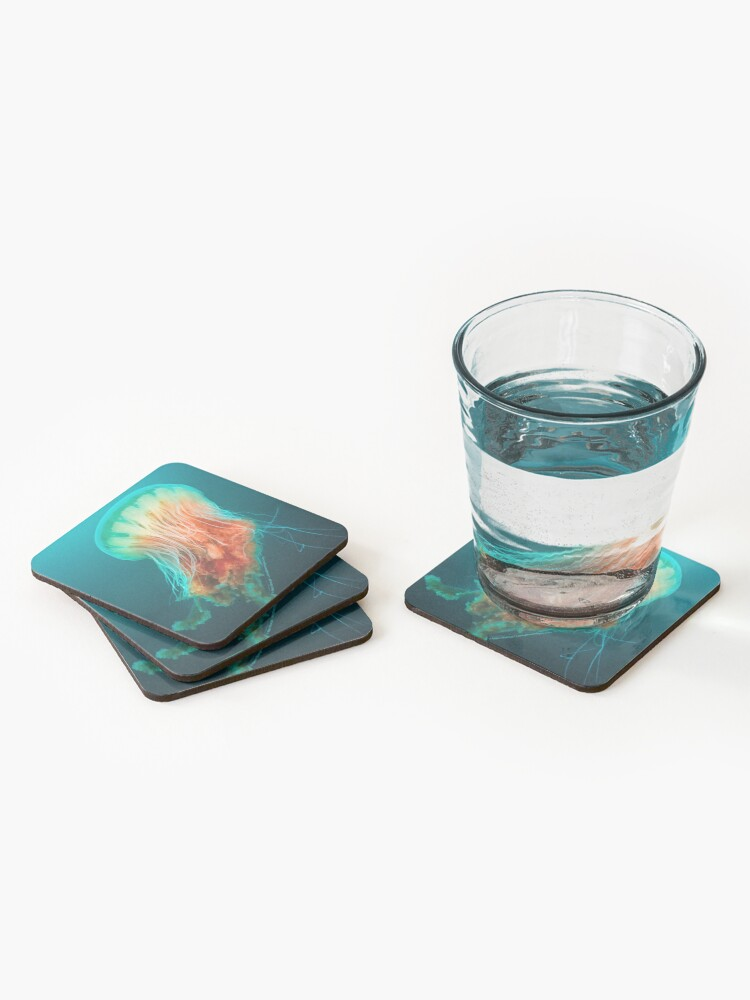 Alternate view of Egg Yolk Jelly, 1999 Coasters (Set of 4)