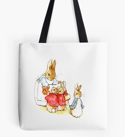 Peter Rabbit and Family Tote Bag