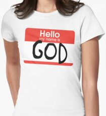 Hello, my name is God T-Shirt