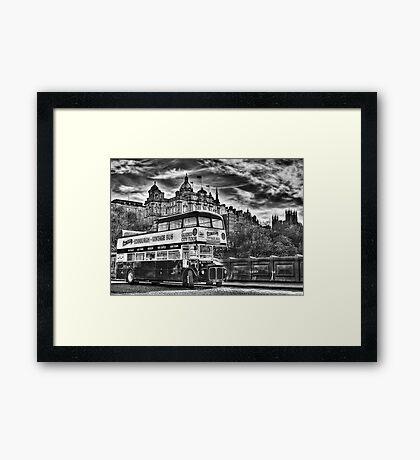 Edinburgh Tours Framed Print