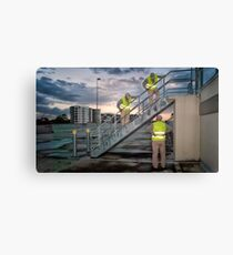 Conference Canvas Print