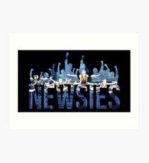 Newsies - Fists Art Print