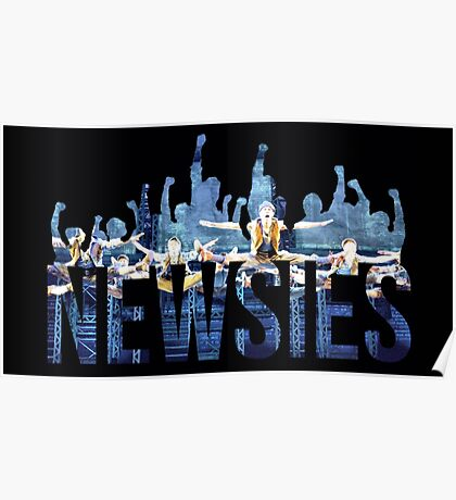 Newsies - Fists Poster