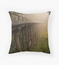 Noogee Trestle Bridge Throw Pillow