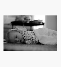 Sleeping Photographic Print