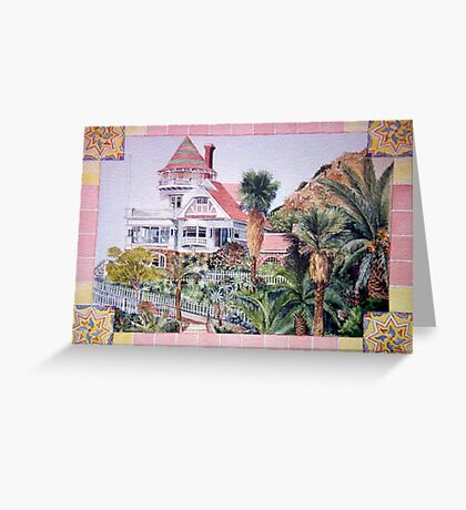 Holly Hill House in Avalon Greeting Card