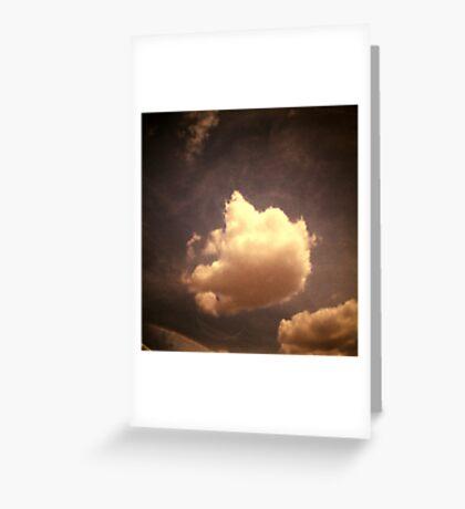 cloud, kampong thom, cambodia Greeting Card
