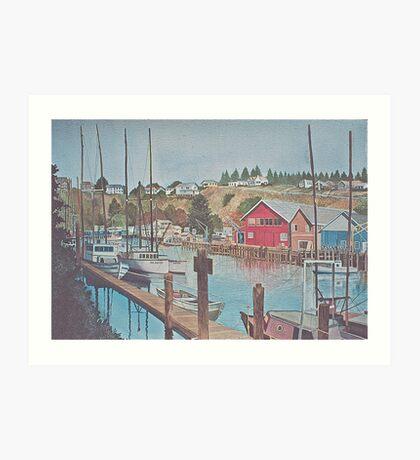 Noyo Harbor 2 Art Print