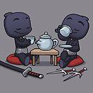 Ninja Tea Time by dooomcat