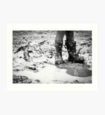 Puddle Stomping Art Print