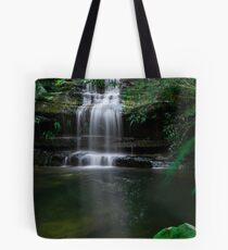 Bedrock Pool, Blue Mountain Tote Bag