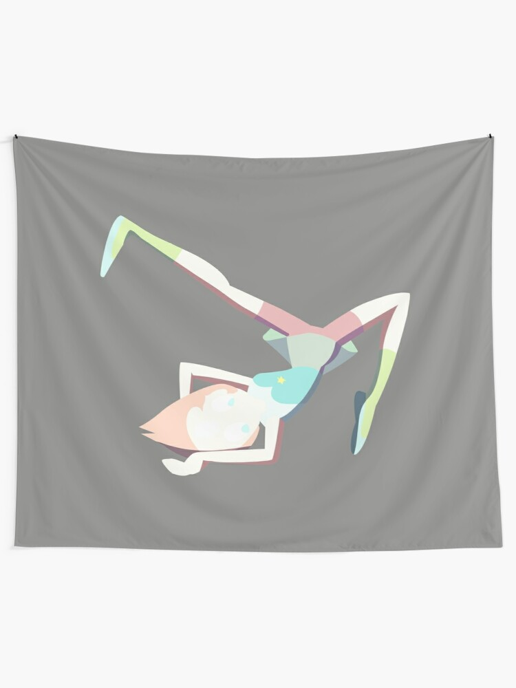 Alternate view of Pearl - Awkward Wrestling Pose Wall Tapestry