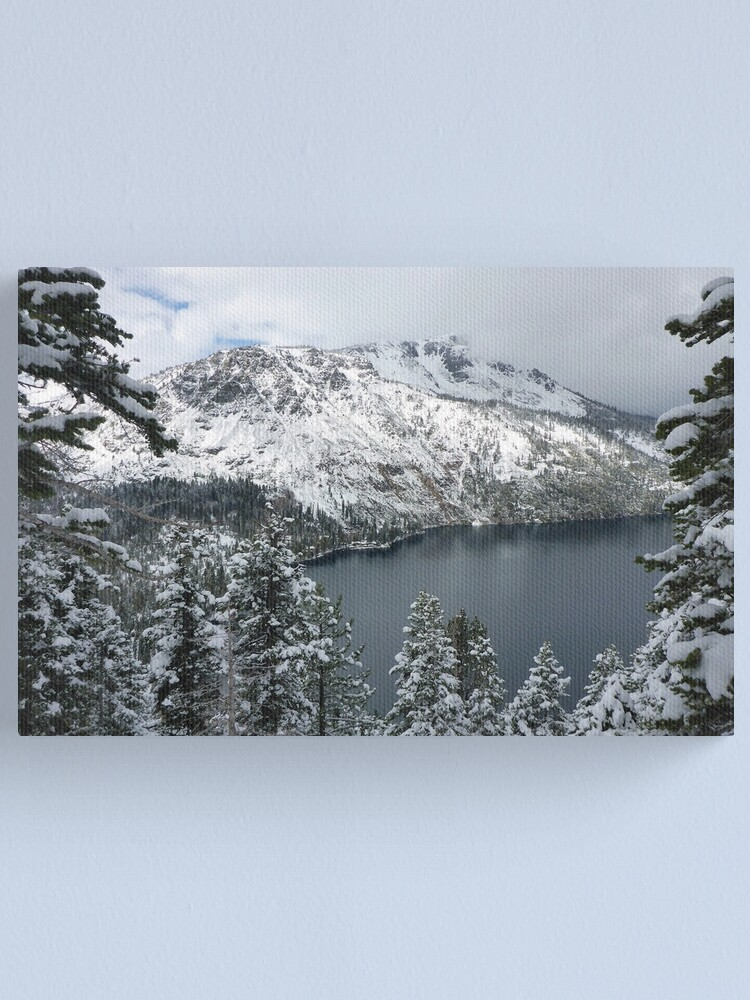 Alternate view of Fallen Leaf Lake and Mount Tallac Canvas Print