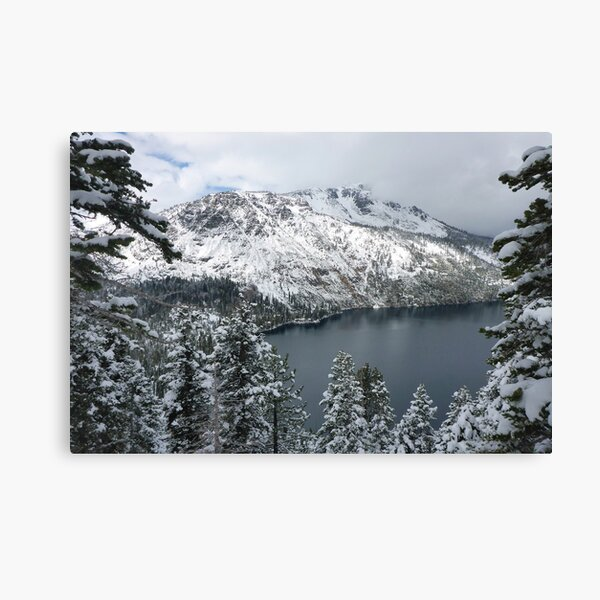 Fallen Leaf Lake and Mount Tallac Canvas Print