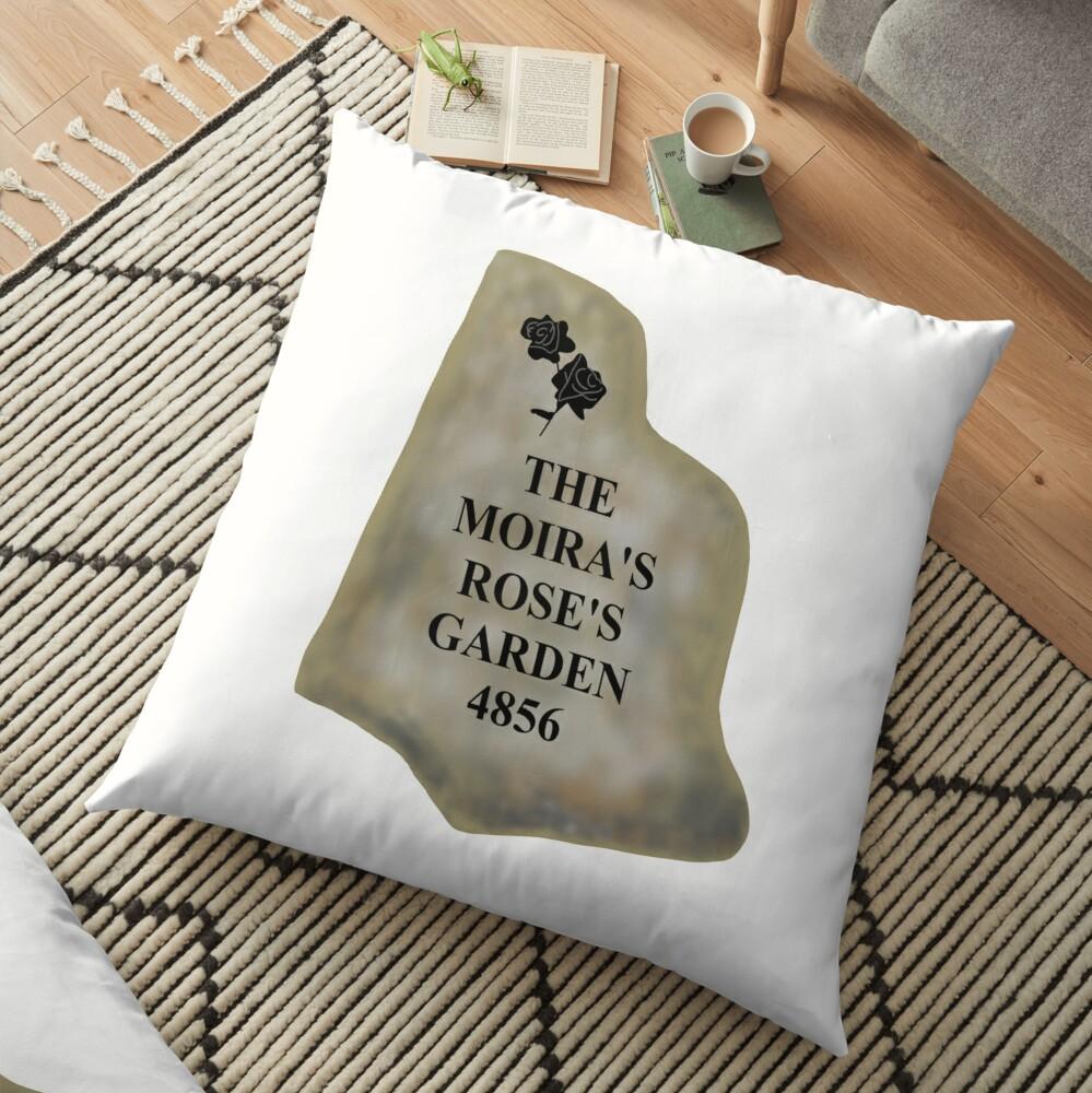 The Moira's Rose's Garden 4856 Floor Pillow