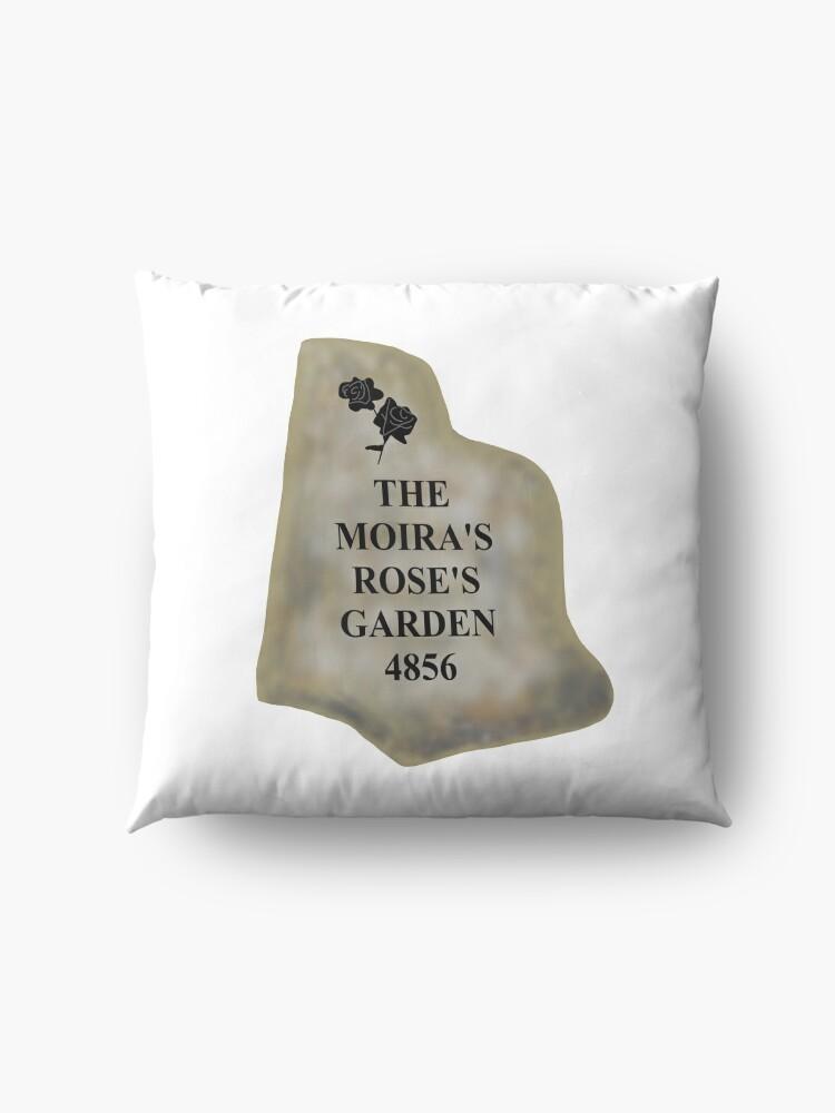 Alternate view of The Moira's Rose's Garden 4856 Floor Pillow