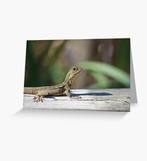 Dragon profile Greeting Card