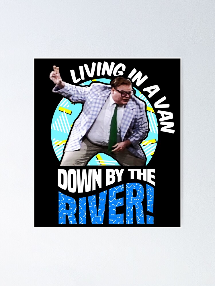 Alternative Ansicht von Chris Farley - Matt Foley Nostalgie-Grafik Poster
