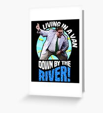 Chris Farley - Matt Foley Nostalgia Graphic Greeting Card