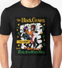 the black shake your money crowes tour 2020 merekah Slim Fit T-Shirt