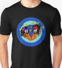 the black shake your money crowes tour 2020 circle merekah Slim Fit T-Shirt