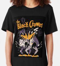 the black duo friends crowes tour 2020 merekah Slim Fit T-Shirt