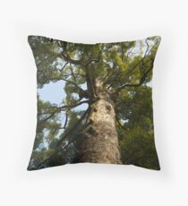Tree at Ise Throw Pillow