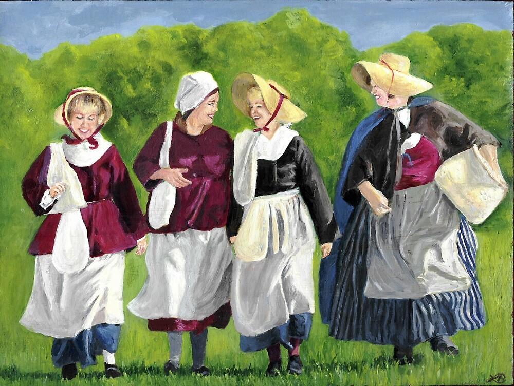 Colonial Women by Linda Bryant