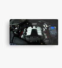 Audi A6 3.0 V6 TFSI Engine Metal Print