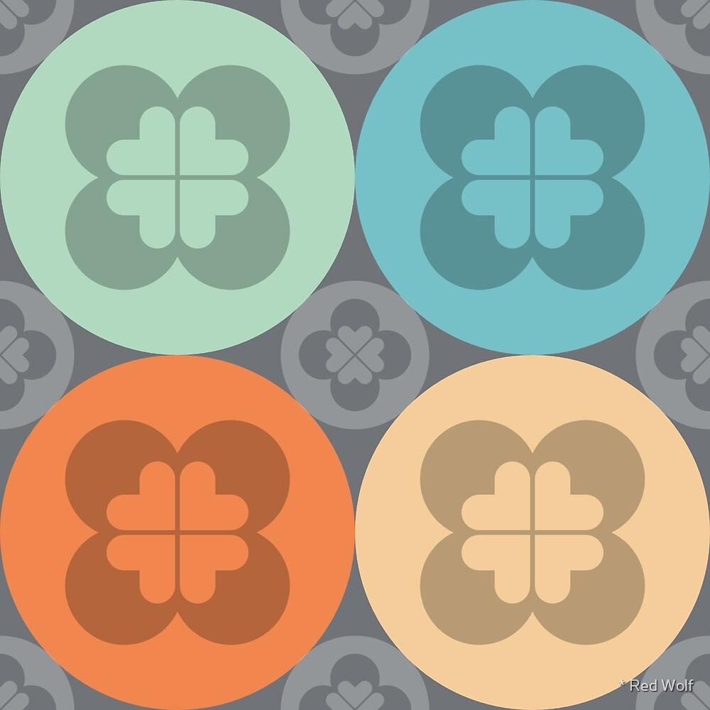 Geometric Pattern: Flower Circle: Saracen by * Red Wolf