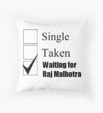 Bollywood - Raj Malhotra (DDLJ) Throw Pillow