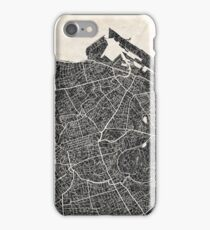 Edinburgh map iPhone Case/Skin