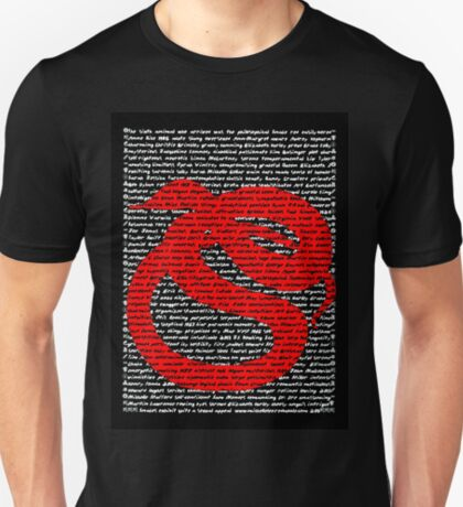 """The Year Of The Snake / Serpent"" Clothing T-Shirt"