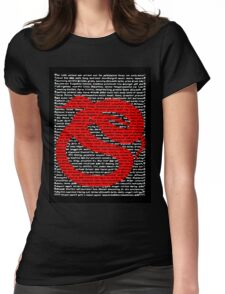 """""""The Year Of The Snake / Serpent"""" Clothing Womens Fitted T-Shirt"""