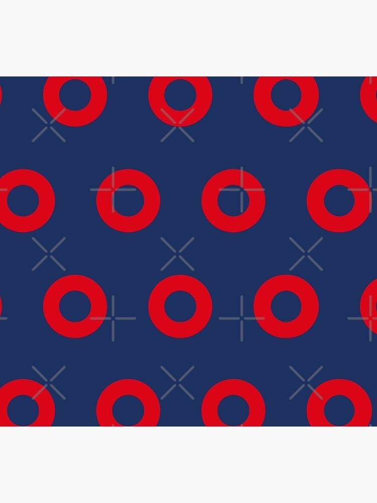 Phish - Fishman Donut Pattern by TheSubtleCircle