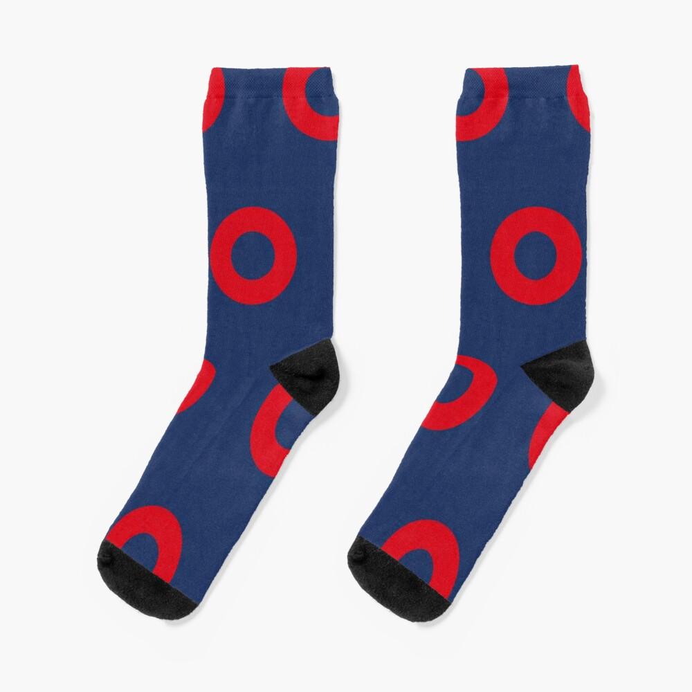 Phish - Fishman Donut Pattern Socks