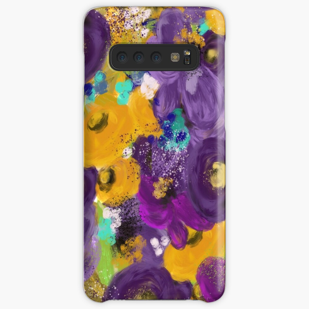 A Mess of Purple Flowers by Jami Amerine Samsung Galaxy Snap Case