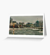Winnipeg Flood 2011 Greeting Card