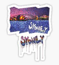 Sydney -small logo Sticker