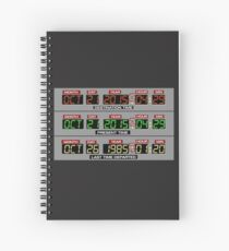 Back to the Future 2 Time Circuits 2015 Spiral Notebook